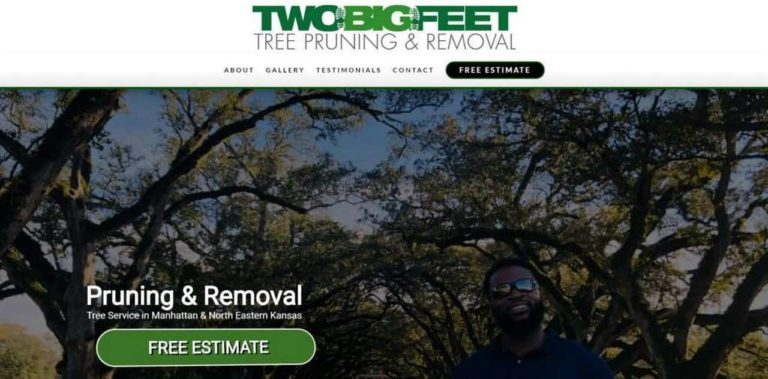 Two Big Feet Tree Pruning and Removal